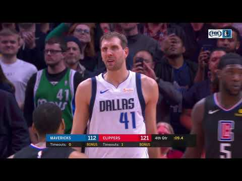 Nick Camino - Doc Rivers stops game to show Dirk Nowitzki respect