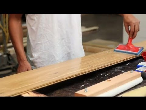 How to Apply Shellac Finishes to Maple Wood Floors : Wood Floor Installation