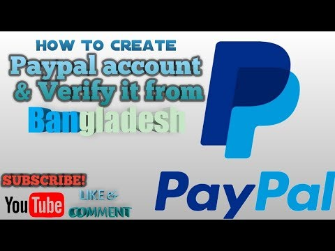 How to create paypal account & verify without credit card from bangladesh*easiest policy*