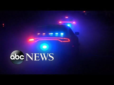 Hot pursuit of a child driving a car erupts with gunfire