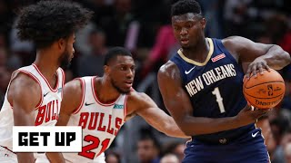 The Pelicans struggled with Zion on the floor – Jalen Rose | Get Up