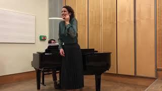 """Elizabeth Tredent, Je ris de me voir si belle, """"Jewel Song"""" Marguerite, Faust"""