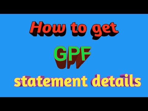 Download Gpf Online Statement Download MP3, MKV, MP4