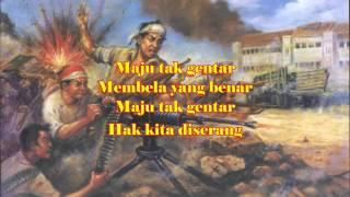 Lagu Wajib Maju Tak Gentar Cipt. C Simanjuntak