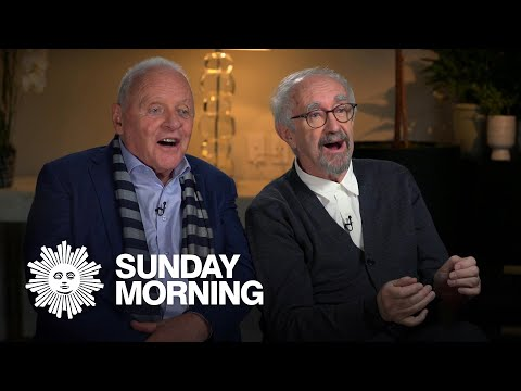 Anthony Hopkins and Jonathan Pryce on