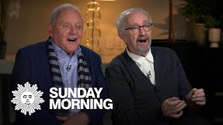 "Anthony Hopkins and Jonathan Pryce on ""The Two Popes"""