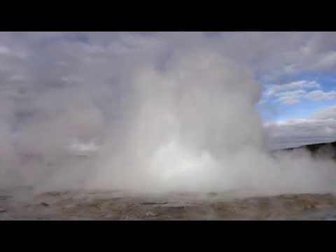 Minute Out In It: Fountain Geyser