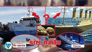 kama unajiuliza UNDANI WA SIRI nyuma ya ajali ya MV NYERERE ziwa victoria hujaangalia clip hii
