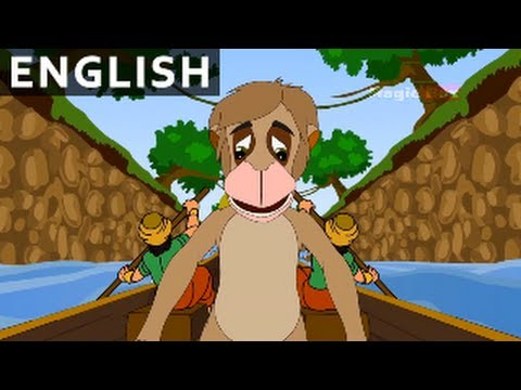 Noble Monkey - Jataka Tales In English - Animation / Cartoon Stories For Kids