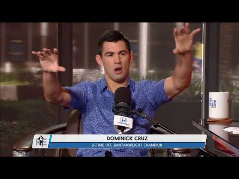 UFC on FOX Analyst Dominick Cruz Talks UFC 214, McGregor vs Mayweather,  & More | Full Interview
