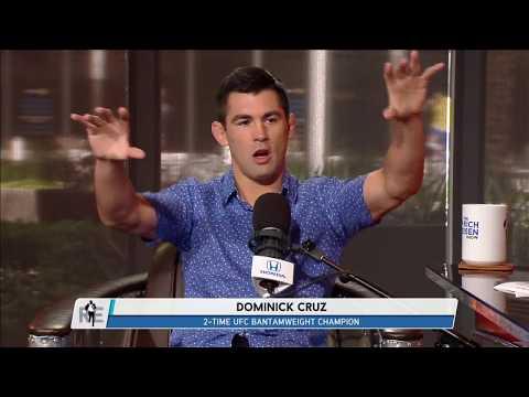 UFC on FOX Analyst Dominick Cruz Talks UFC 214, McGregor vs Mayweather,  & More | Full Interview