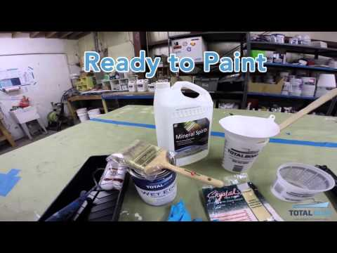 The BEST WAY TO ROLL & TIP Topside Paint on Your Boat