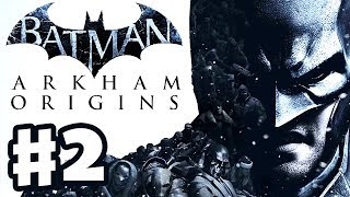 Batman Arkham Origins - Gameplay Walkthrough Part 2 - Santa Batman (PC, Xbox 360, PS3)