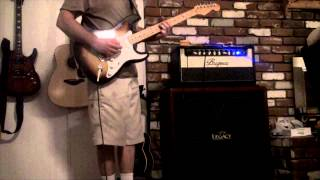 Behringer Chorus Orchestra guitar pedal demo