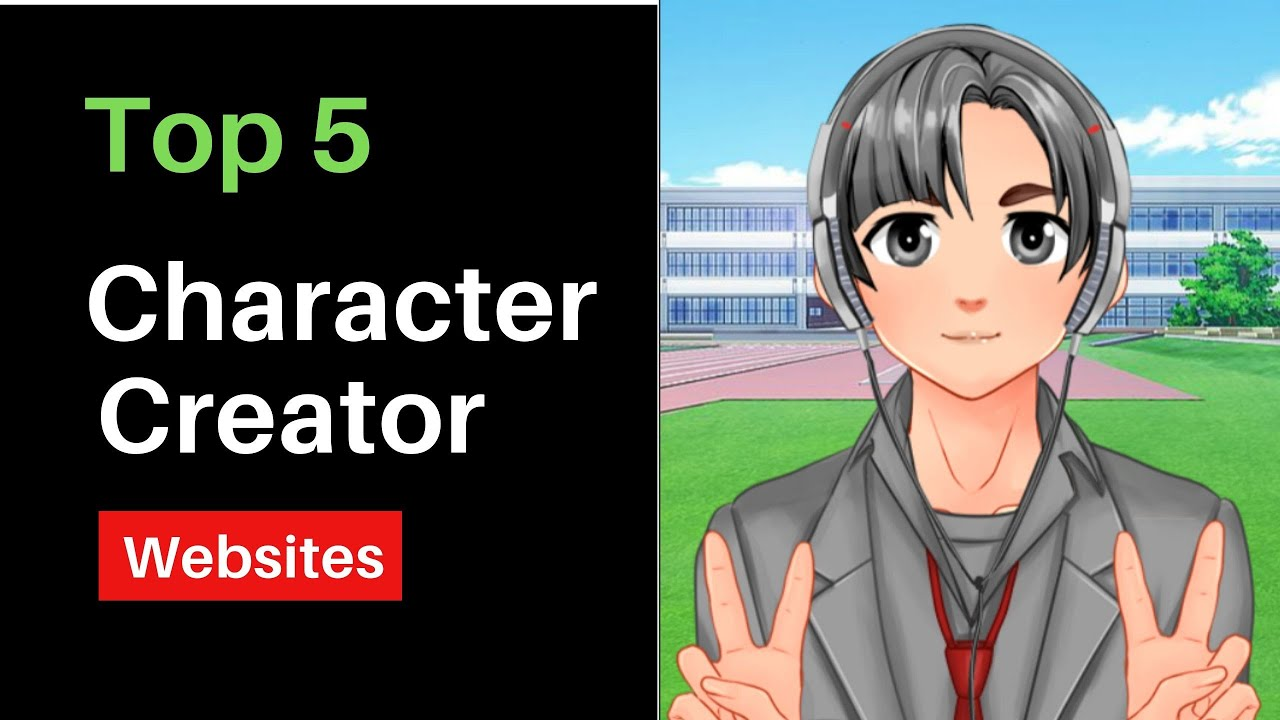 Top 10 Free Anime Character Creator Websites Online