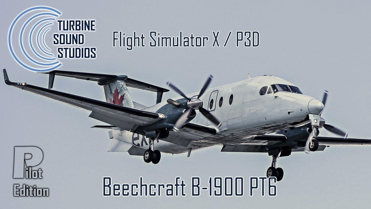 Turbine Sound Studios Release Beechcraft B-1900D