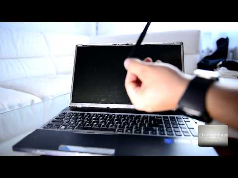Tutorial Notebook LED Screen Replace / Repair - Samsung Notebook Screen Problem