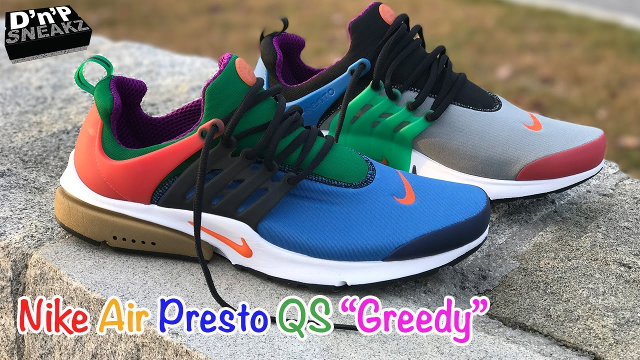 designer fashion 2285d fcbe0 Nike Air Presto QS