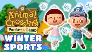 Animal Crossing: Pocket Camp - Winter Sports Guide