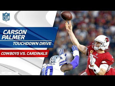 Carson Palmer Leads Opening TD Drive vs. Dallas | Cowboys vs. Cardinals | NFL Wk 3 Highlights