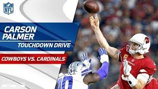 Carson Palmer Leads Opening TD Drive vs. Dallas | Cowboys vs. Cardinals | NFL Wk 3 Highlights