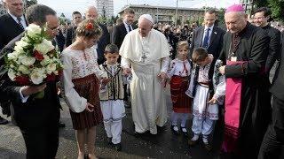 Đức Giáo Hoàng Phanxicô Rumani - Gặp gỡ các bạn...