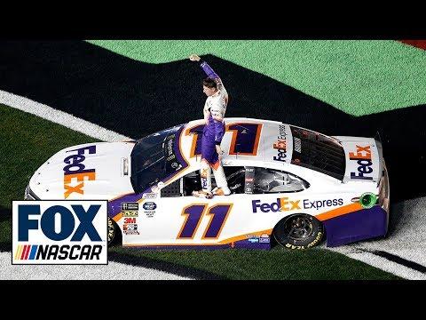 Eric Hunter - Denny Hamilin Wins His Second Daytona 500