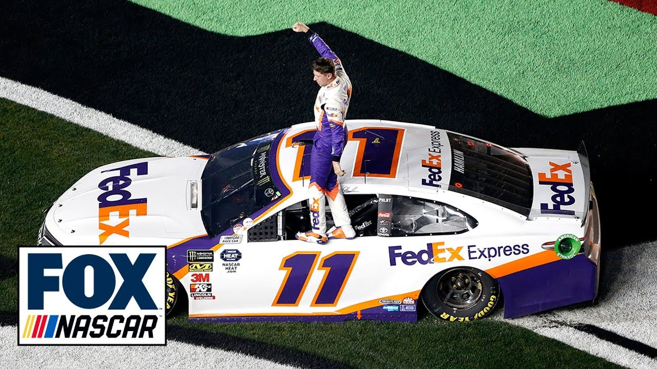 'This one's for JD': Denny Hamlin's emotional Daytona 500 win honors late co ...