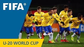 Brazil v. Uruguay - Match Highlights FIFA U-20 World Cup New Zealand 2015