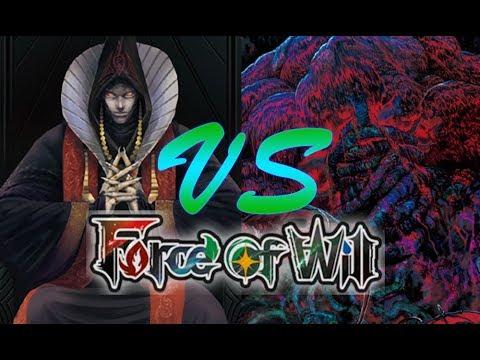Force of Will (TCG) Feature Match: Dark Tree Control Vs. Demon Al' Hamat Burn