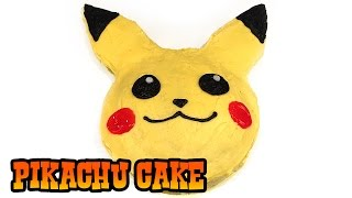 How to Make PIKACHU CAKE- Kids Baking Lesson