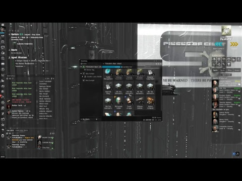 EVE Online Стрим. Альфа Галленте #06. Serpentis Narcotic Warehouses 3/10 DED