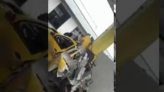 Взрыв машины на заправке в минеральных водах (метан)
