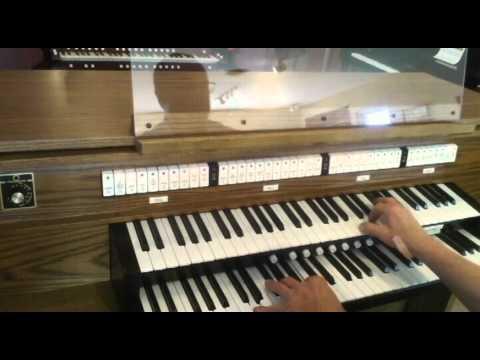 Allen CF7 used church organ.avi