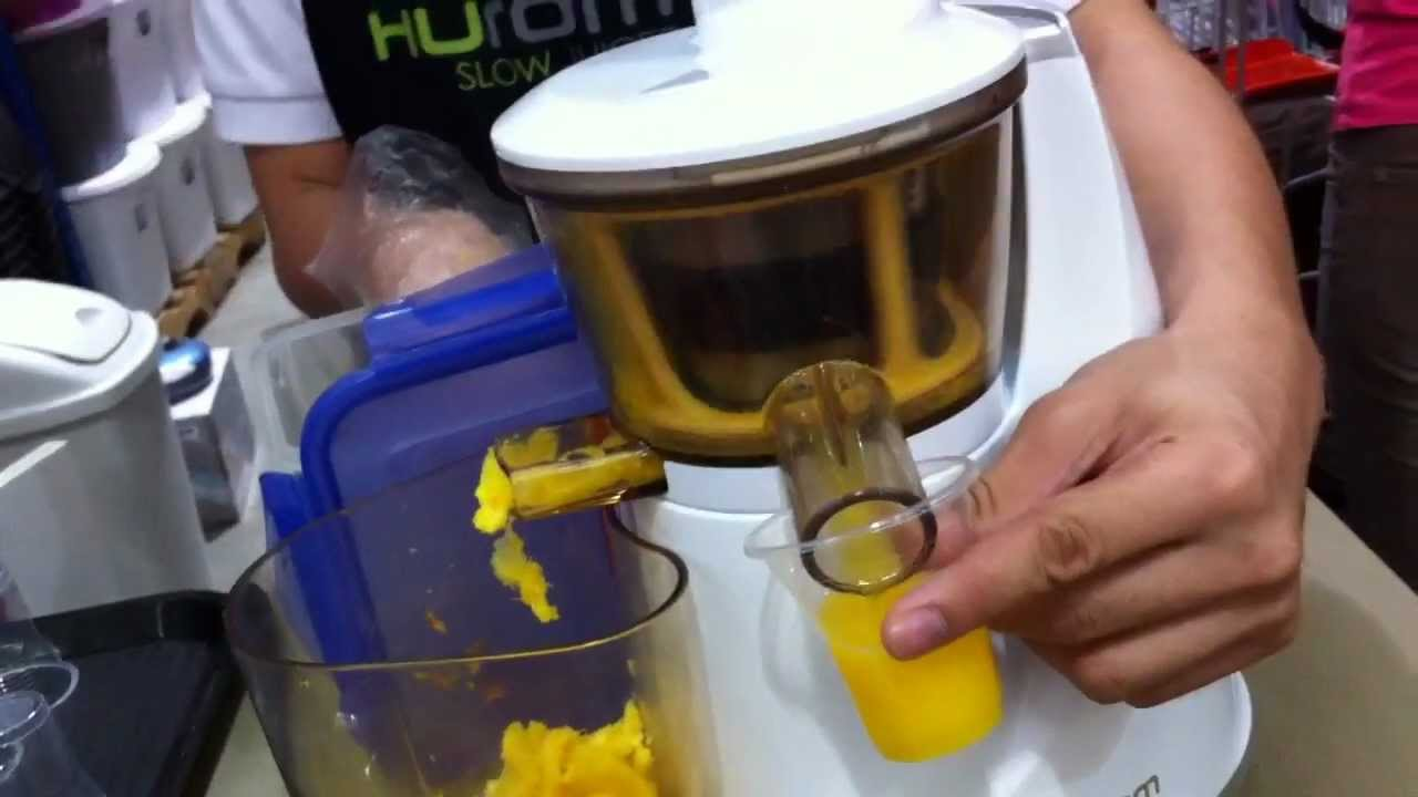 Hurom Slow Juicer Ph : Hurom Slow Juicer Philippines by HourPhilippines.com - YouTube