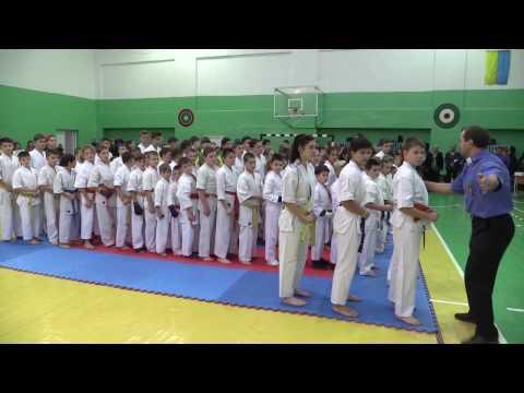 Чемпіонат України по кіокушинкай карате  Місто Рівне 12 11 2016