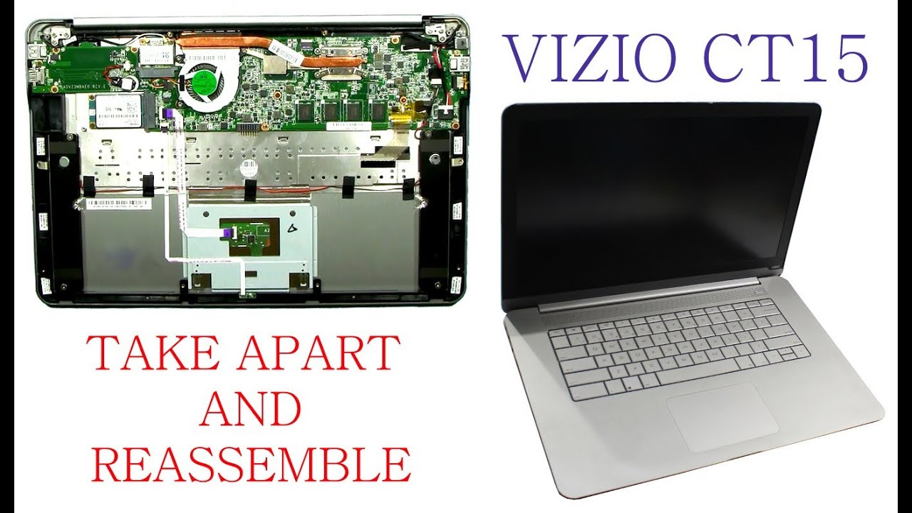 Vizio Laptop Diagram Trusted Wiring Diagrams Ct15 Ultrabook Take Apart And Reassemble Youtube Rh Com Tv Cable Box
