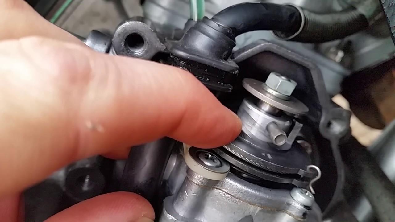 BAD Yamaha DT125R autolube oil pump