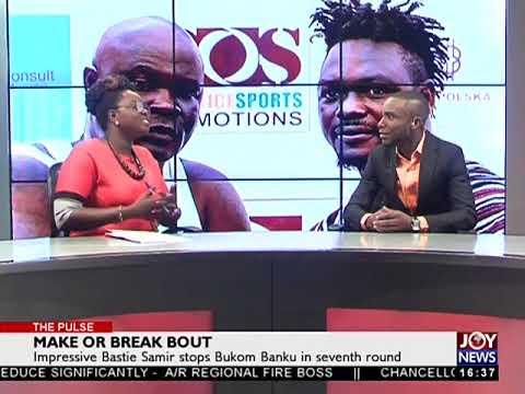 Bastie Samir stop Bukom Banku in seventh round  The Pulse Sports on Joy 231017