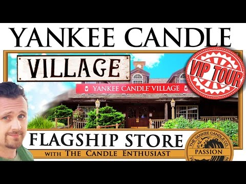 Yankee Candle Village | Guided TOUR | Flagship Store | ULTIM