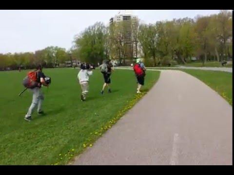 The Amazing Race Canada filming in Quebec City