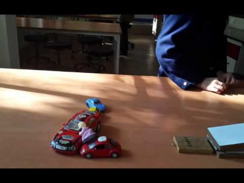 Newton's First Law of Motion: Car and ramp activity