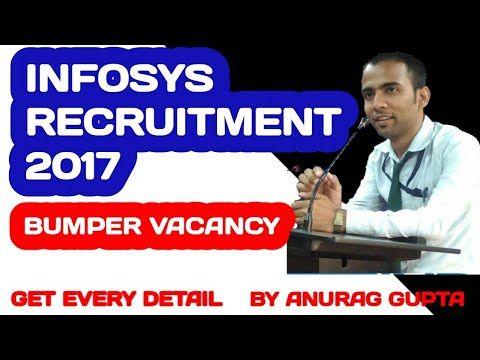 Infosys Recruitment For 2017 – Various Job Openings U.G/P.G Freshers | Apply Online | Government Job