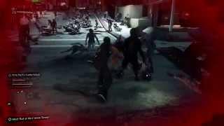 Dead rising 3 Жесткий Глюк 18+  (Multiplayer Glitch)