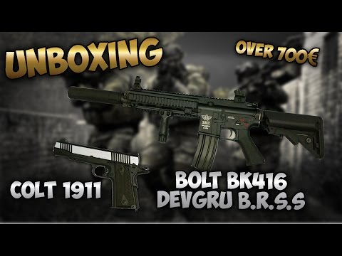 UNBOXING | AIRSOFT OVER 700€ | REVIEW [ESPAÑOL]