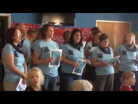 Coodes team sing South Australia