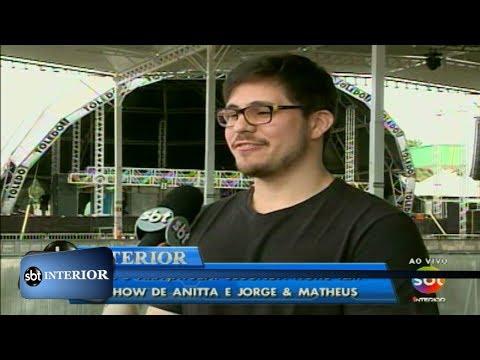 Expô Araçatuba: segunda noite tem show de Anitta e Jorge & Matheus