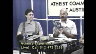"""Lost"" Atheist Experience #117 with Ray Blevins, Jeff Dee, and Arlo Pignotti"