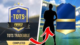 Fifa17 tots *new* tots sbc & completing sbcs for *free* huge tots pack opening!