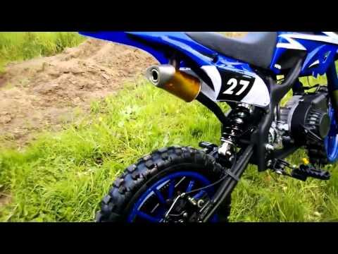 Minimoto dirt bike 49cc 10 CROXX   Tecnocio.com